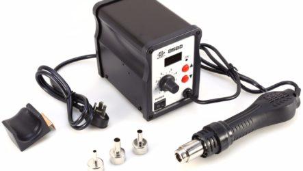 Бюджетная паяльная станция/фен 858D. Лучший выбор для новичка