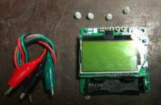 Esr метр DIY MG328
