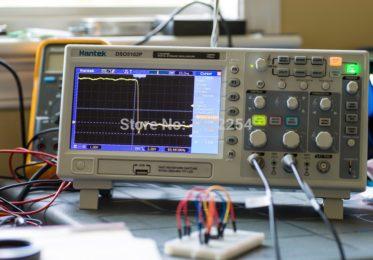 Осциллограф Hantek DSO5102P, 100МГц, 2 канала.